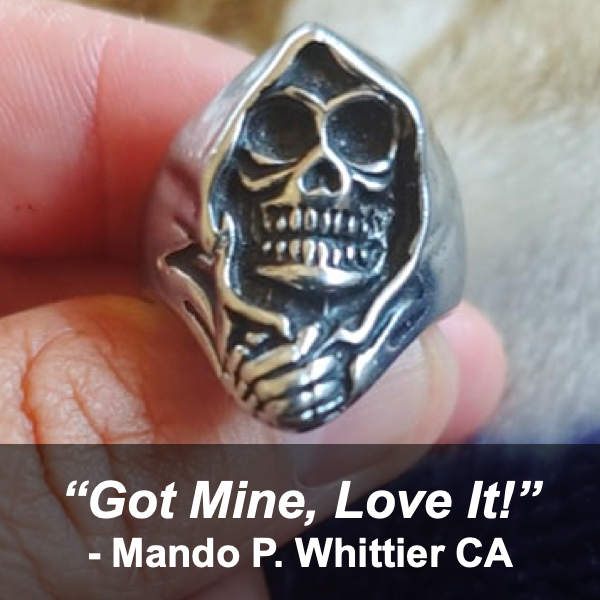 045 - Mando P. Whittier California Got Mine and Love it
