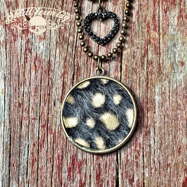 Leopard Skin Necklace