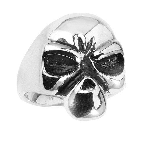 Stainless Steel Alien Skull Ring (057)