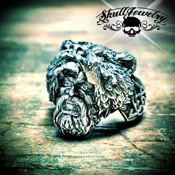 mountain man and bear ring