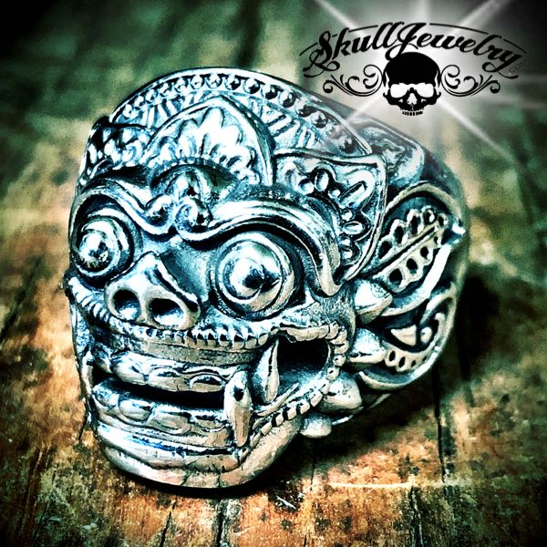 "Barong ""King of the Spirits"" Ring"