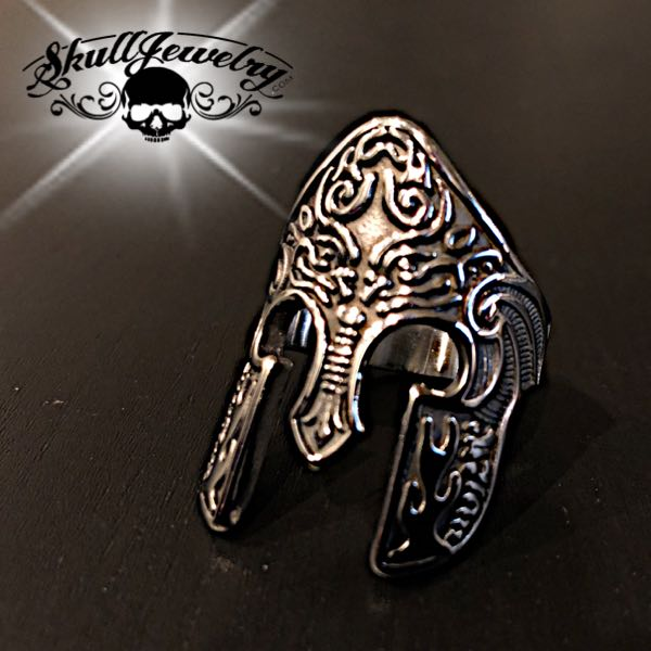 'Achilles' Stainless Steel Ring