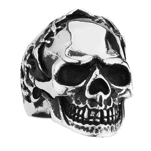 Stitched Head Skull Ring (128)