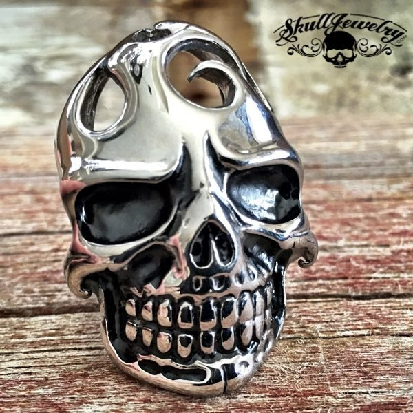 Sharp Dressed Man' Big, Bold & Heavy Skull Ring