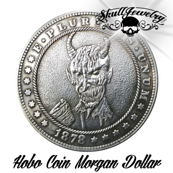 1878 'Devilish' Hobo Coin (m0087)