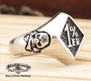 one percent skull ring
