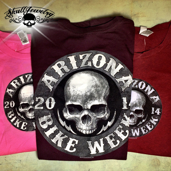 2014 Ladies Arizona Bike Week T-Shirt (3 colors to choose from)