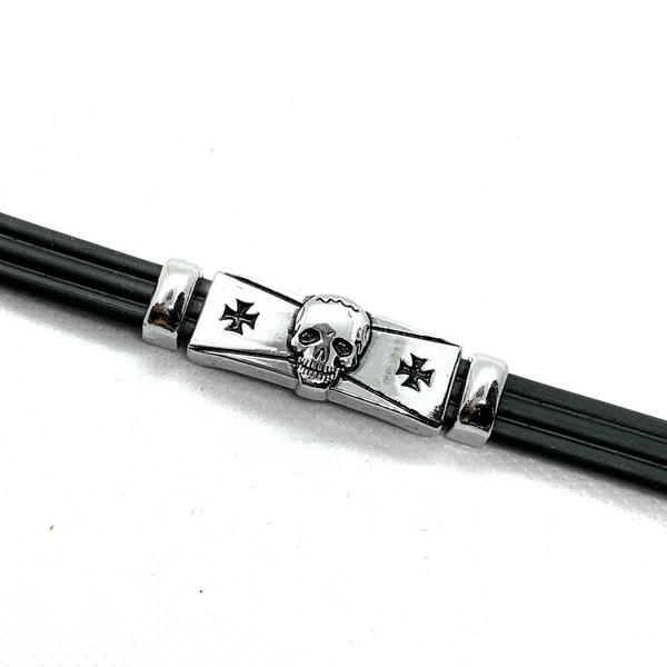 Cross Pattee Skull Bracelet