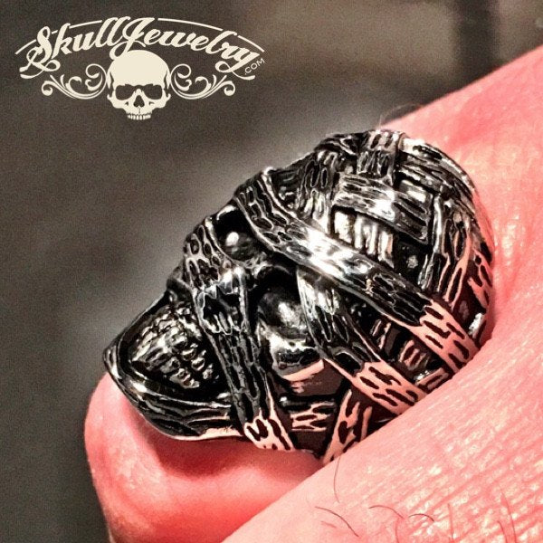 Boris Karloff 'The Mummy' Skull Ring