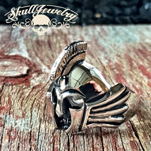 Spartan Warrior Stainless Steel Ring