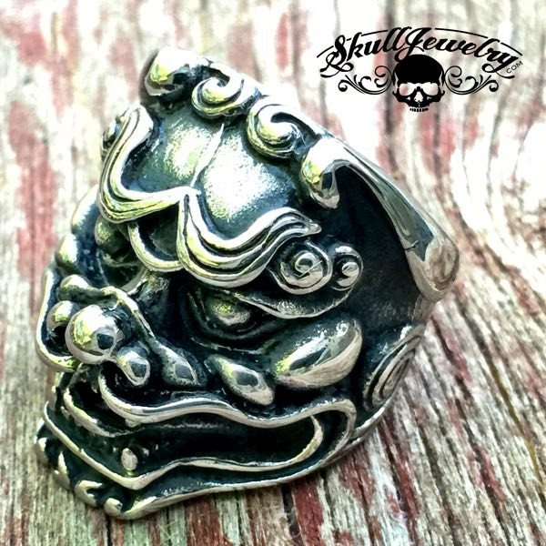 'Qilin' Sacred Animal Ring for Prosperity