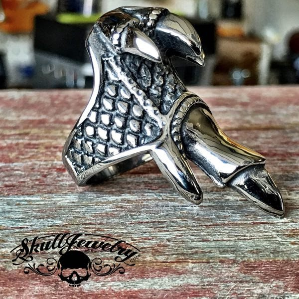 'Drago' Dragon Claw Stainless Steel Ring