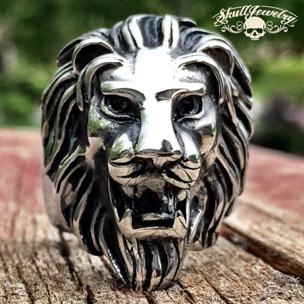 'Lion Heart' Big, Bold & Heavy Ring