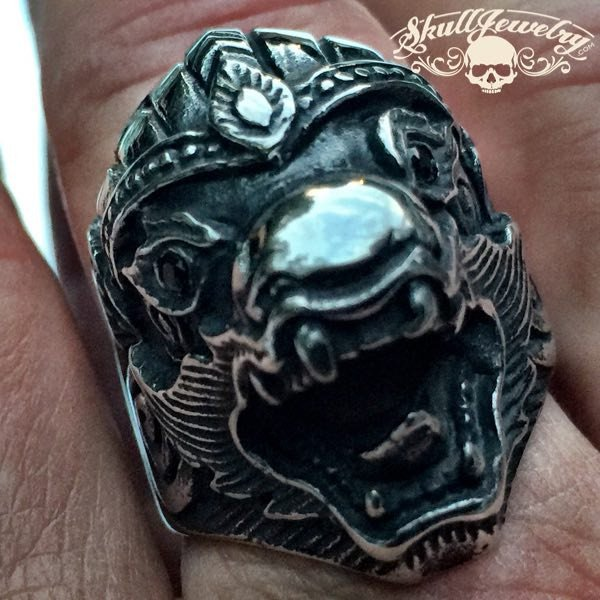 'China Grove' Big & Bold Dragon Ring - Doobie Brothers
