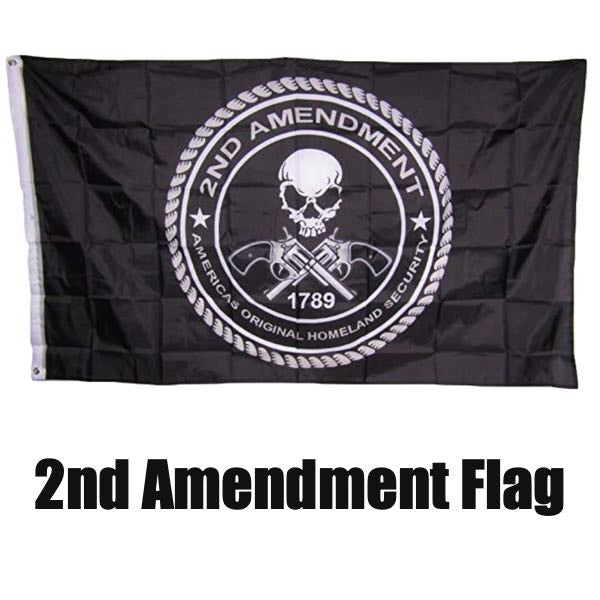 2nd Amendment Original Homeland Security since 1789 Flag