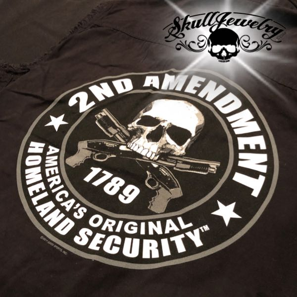 2nd amendment sleeveless t-shirt