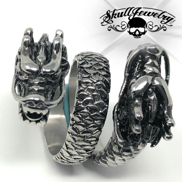 double dragon ring