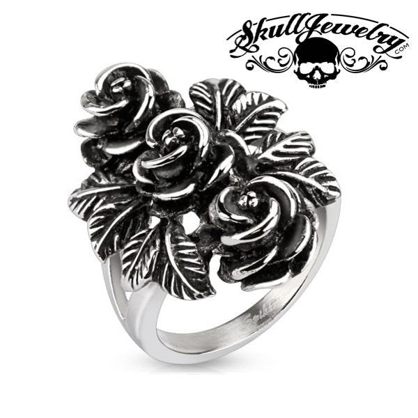 'Bundle of Roses' Ring