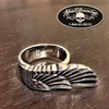 Egyptian Wing Stainless Steel Ring