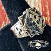 old world vintage cross ring
