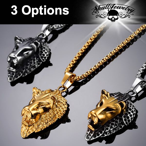 'The Ghost and the Darkness' Lion Pendants (3 options)