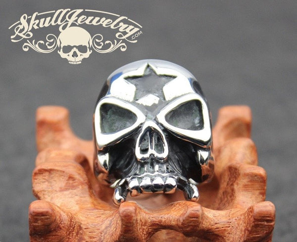 Lone Star Legend Skull Ring