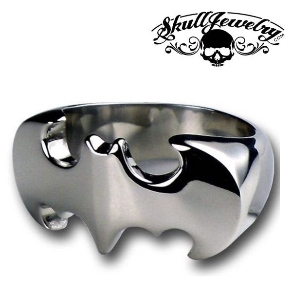 'Batman' Stainless Steel Ring (431)