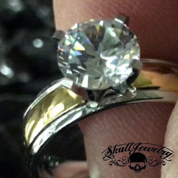 3 C's; Color, Clarity & Cut Ring