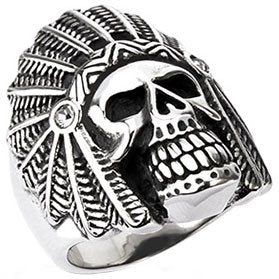 'Apache Death Skull' Ring (240)