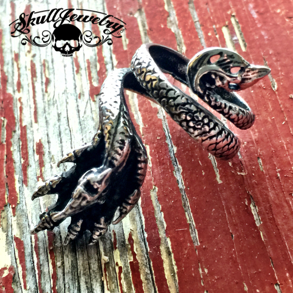 Seven Headed Dragon Ring