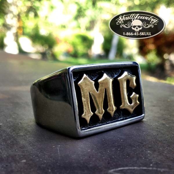 MC Gold-Tone/Stainless Steel Ring