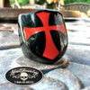 Red/Black 'Temple of Solomon' Ring a.k.a. Knights Templar Ring