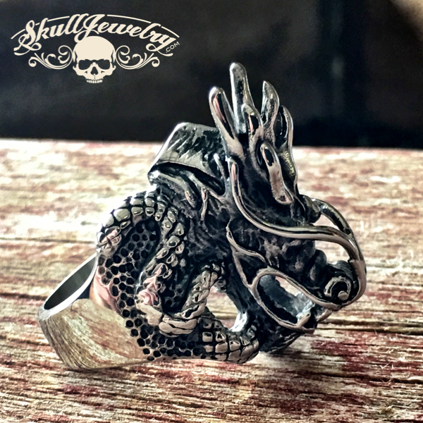 'Mother Natures Son' Dragon Ring