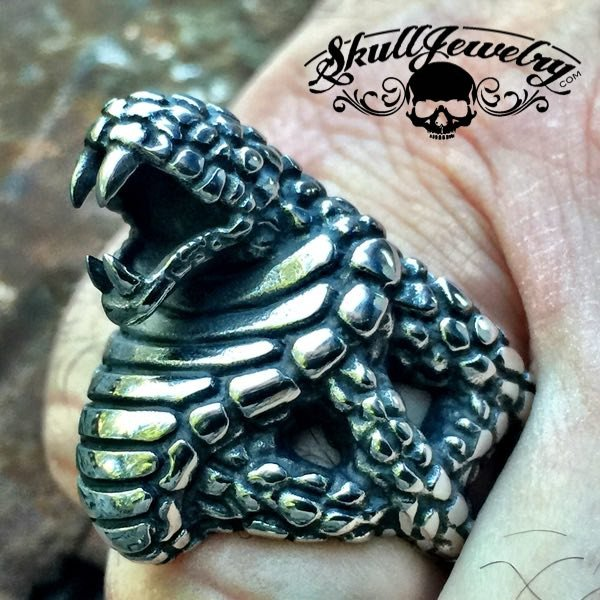 'Ready An Willing' Snake Ring