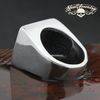 Motorcycle Club MC Stainless Steel Heavy Bold Ring (557)