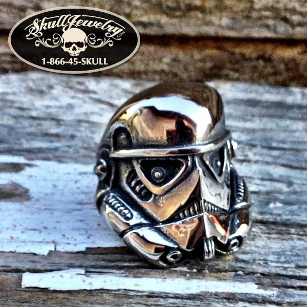 'Stormtrooper' Stainless Steel Ring