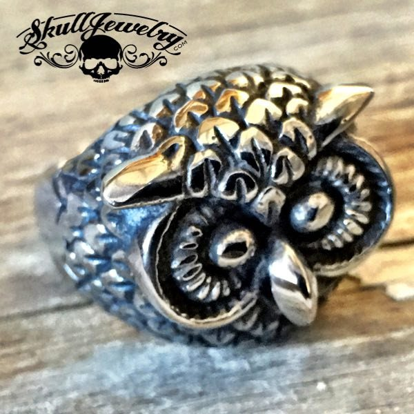 'Wise Owl' Ring