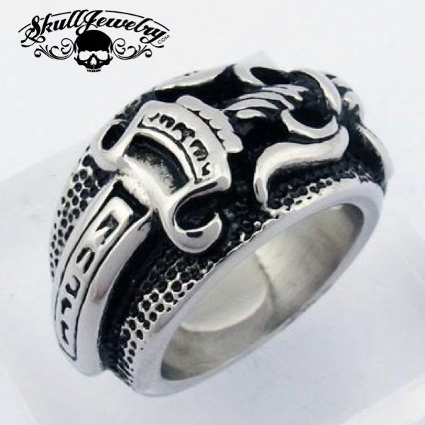 """""""Double-Edged Sword"""" Ring"""