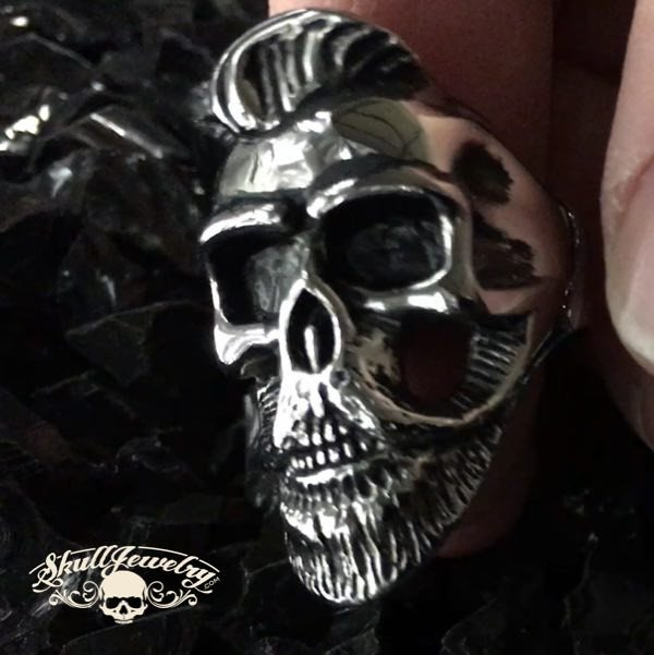 'Time of the Preacher' Skull Ring