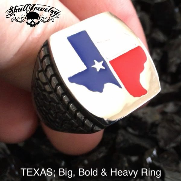 Big, Bold & Heavy TEXAS Ring