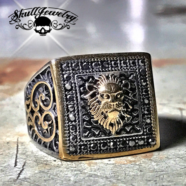 Mythical 'Nemean Lion' Ring