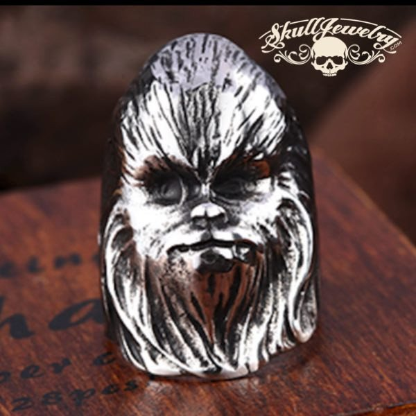 Chewbacca Stainless Steel Ring