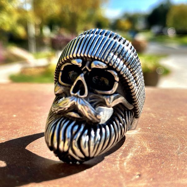 'Born to be Wild' Biker Ring (693)