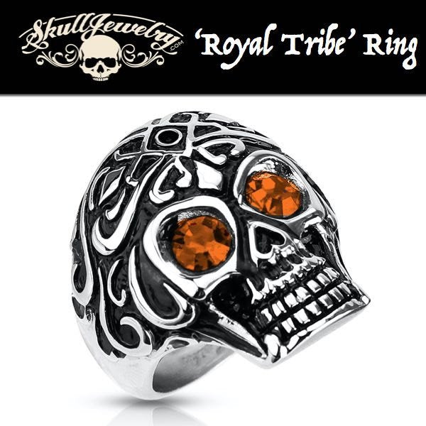 'Royal Tribe' w/Gem Stone Eyes