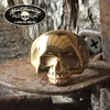 Keith Richards gold oldschool skull ring