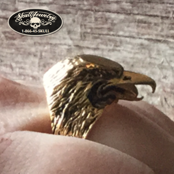Golden Eagle Ring