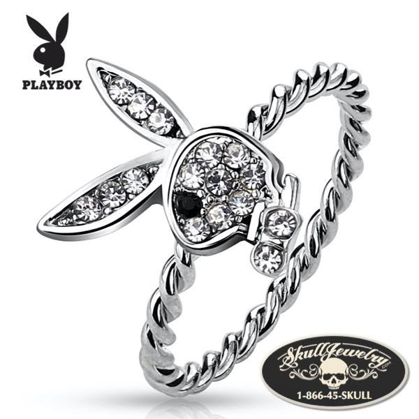 Playboy Bunny Rope Ring