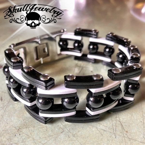 Opposites Attract Steel Bracelet
