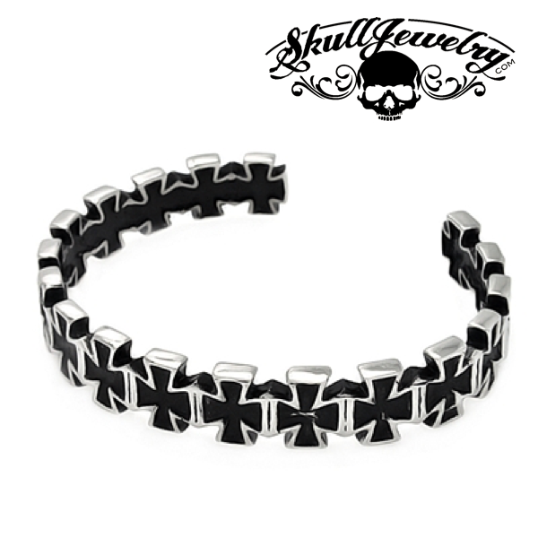 Iron Cross Cuff Bracelet