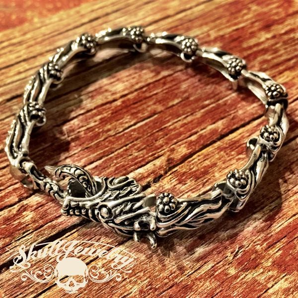 'Draco' The Steel Dragon Bracelet